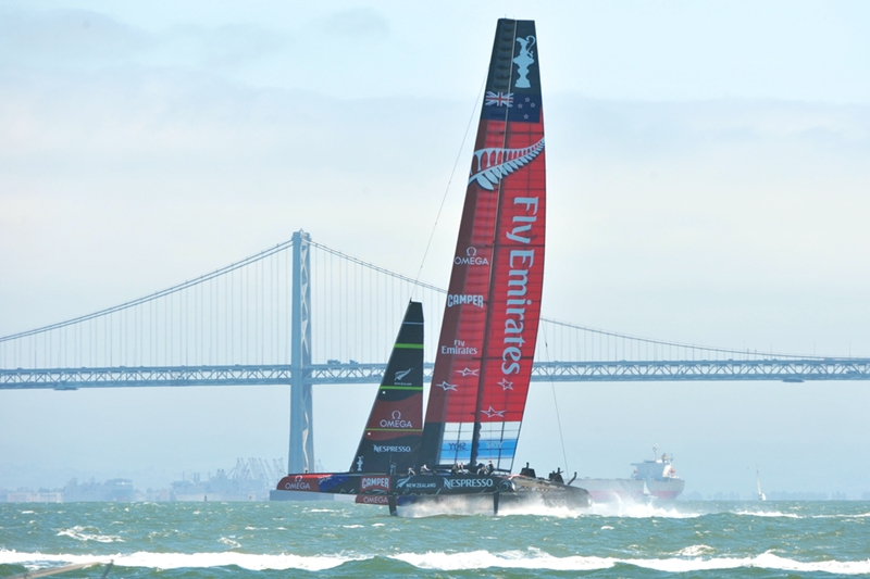 Team Emirates NZ was a perfect blend of tech and team.